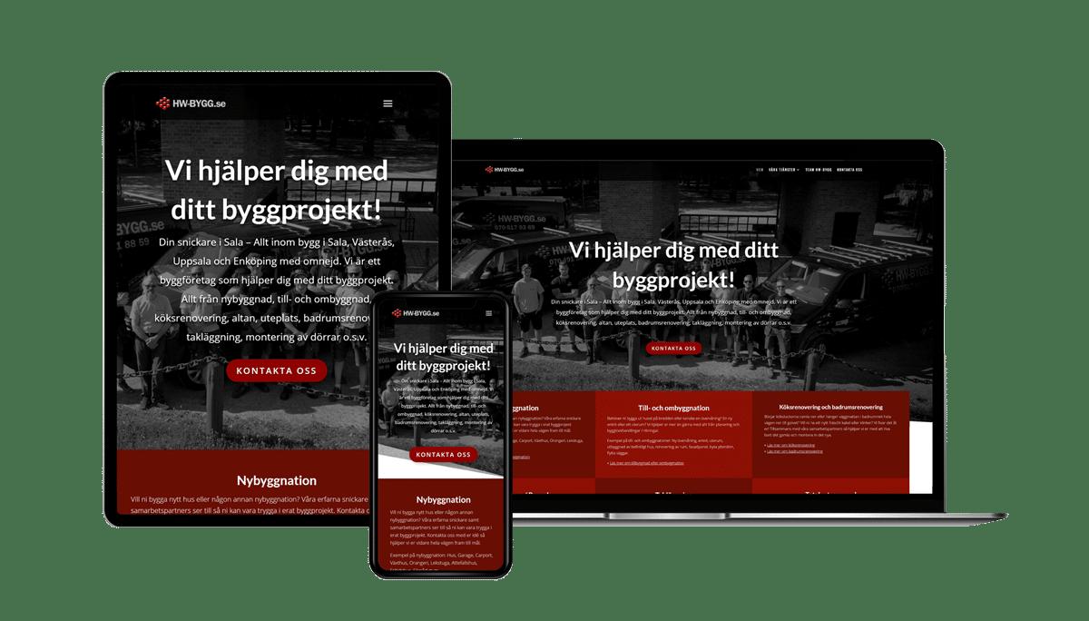 HW-Bygg.se 2.0
